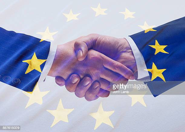 European partnership handshake