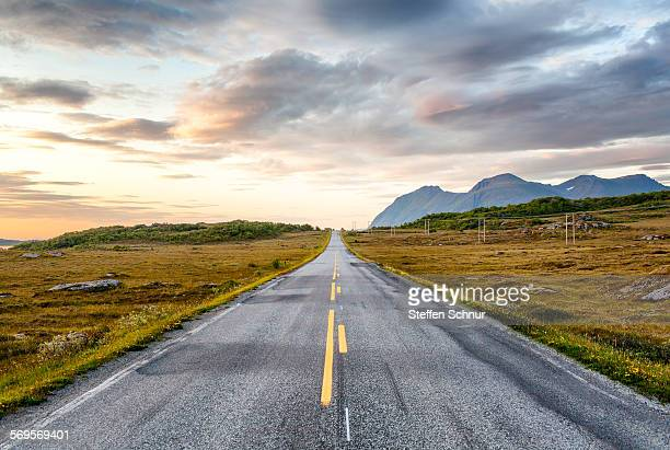 European route E 10 Lofoten Norway landscape