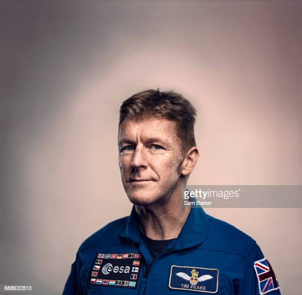European Space Agency astronaut Tim Peake is photographed for British Airways magazine on November 3 2016 in London England