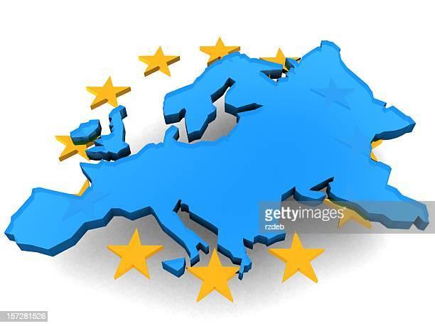 Europäischen Union und Stars