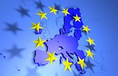 European Union Map without UK