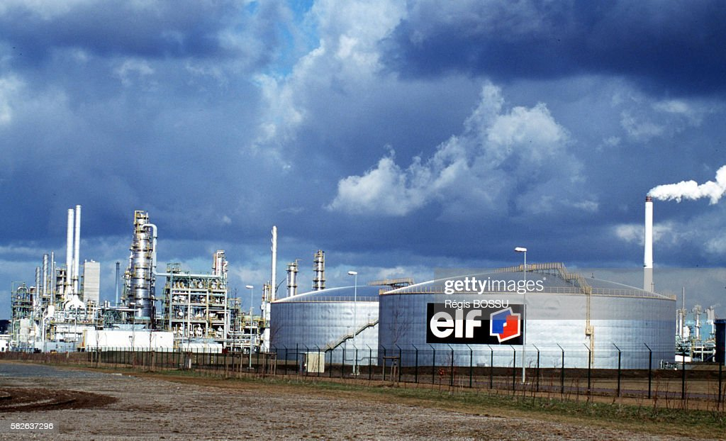 Europe's largest refinery was built by ELF after the fall of the Berlin Wall Negotiations went through extra quickly thanks to money paid by Sirven...