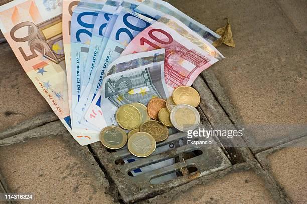 Euros down the drain