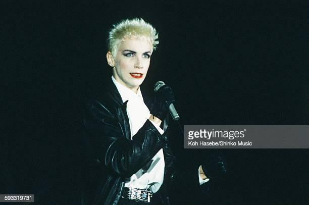 Eurythmics Annie Lennox live at Yoyogi National Athletic Stadium Tokyo March 17 1987