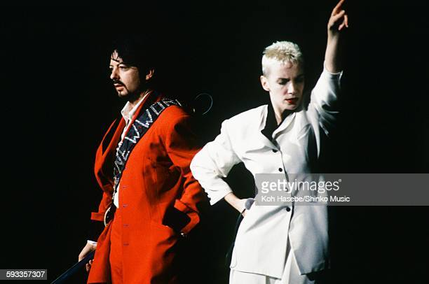 Eurythmics live at Yokohama Arena Yokohama January 27 1989