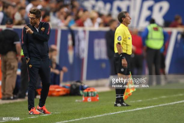 Eusebio Di Francesco head coach / manager of AS Roma during the International Champions Cup 2017 match between Tottenham Hotspur and AS Roma at Red...