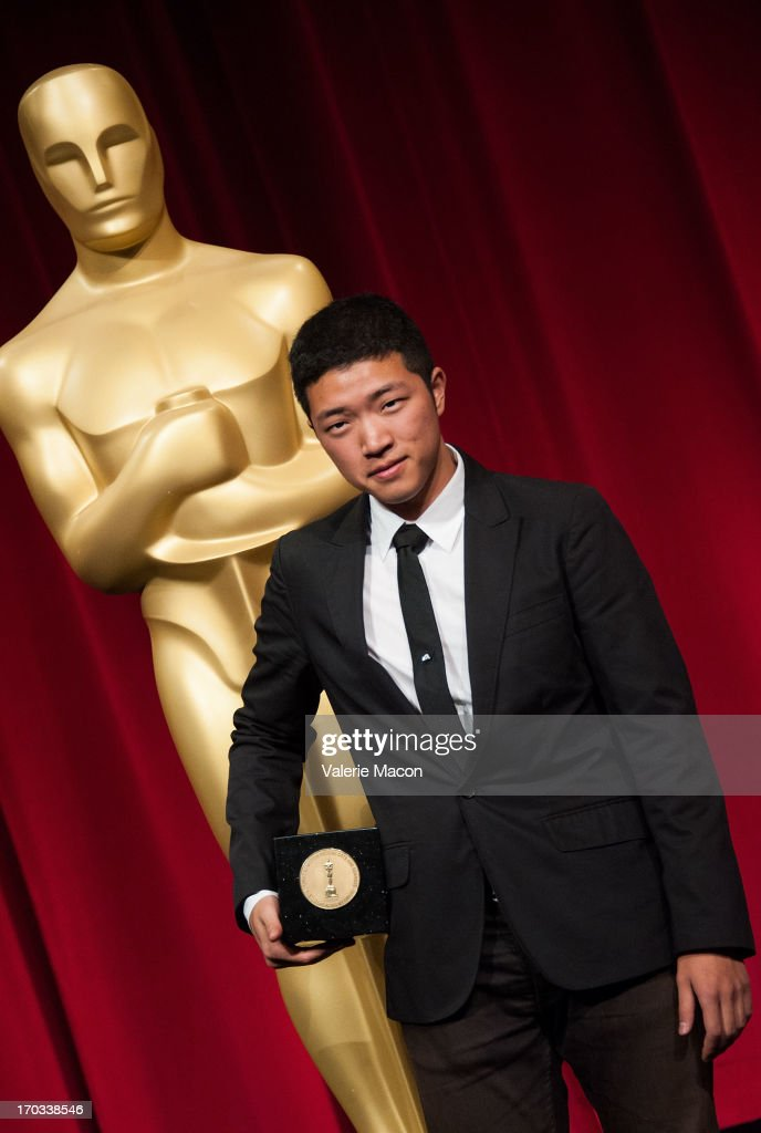 Eusong Lee attends The Academy Of Motion Picture Arts And Sciences' 40th Annual Student Academy Awards Ceremony at AMPAS Samuel Goldwyn Theater on...