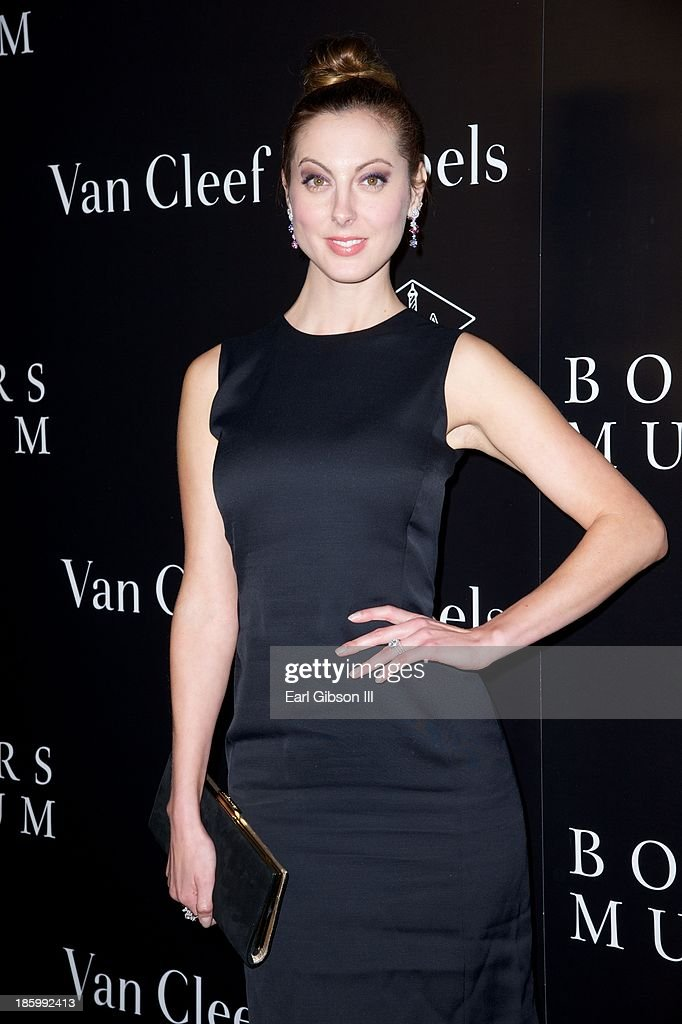 <a gi-track='captionPersonalityLinkClicked' href=/galleries/search?phrase=Eva+Amurri&family=editorial&specificpeople=213733 ng-click='$event.stopPropagation()'>Eva Amurri</a> Martino attends the Van Cleef & Arpels New Exhibit Opening Night Reception at The Bowers Museum on October 26, 2013 in Santa Ana, California.