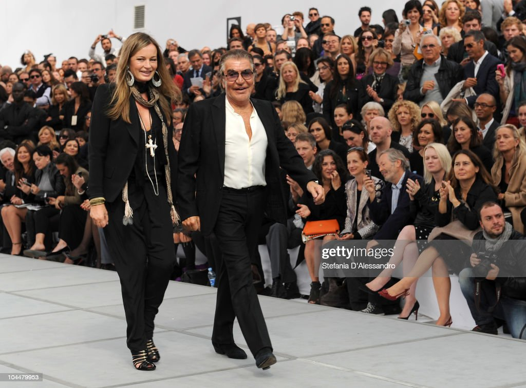 Roberto Cavalli - Front Row: Milan Fashion Week Womenswear S/S 2011