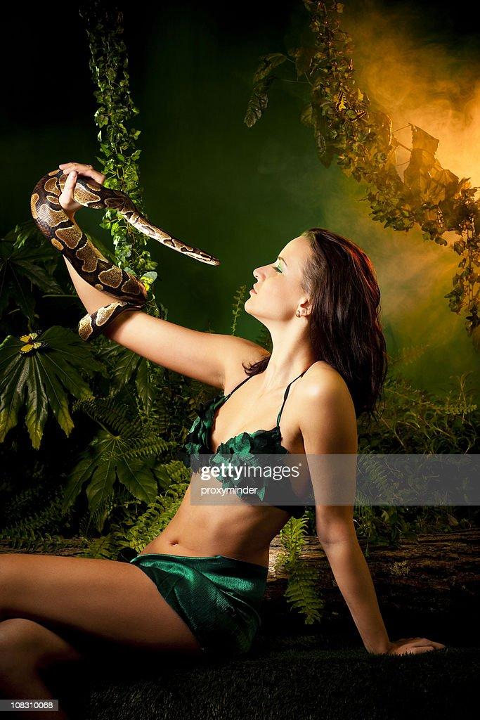 Eva and Snake