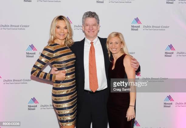 Eva AnderssonDubin MD Michael Brodman MD Elisa Port MD attend 2017 Dubin Breast Center Annual Benefit at the Ziegfeld Ballroom on December 11 2017 in...