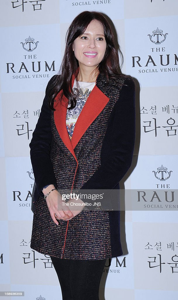 Eva attends the Seo Do-Young Wedding at the raum on December 22, 2012 in Seoul, South Korea.