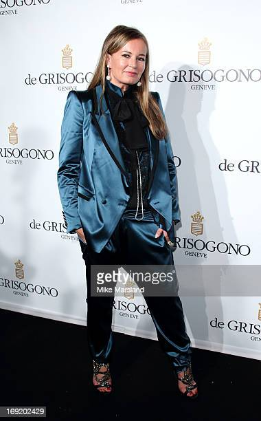 Eva Cavalli attends De Grisogono party during The 66th Annual Cannes Film Festival on May 21 2013 in Cannes France