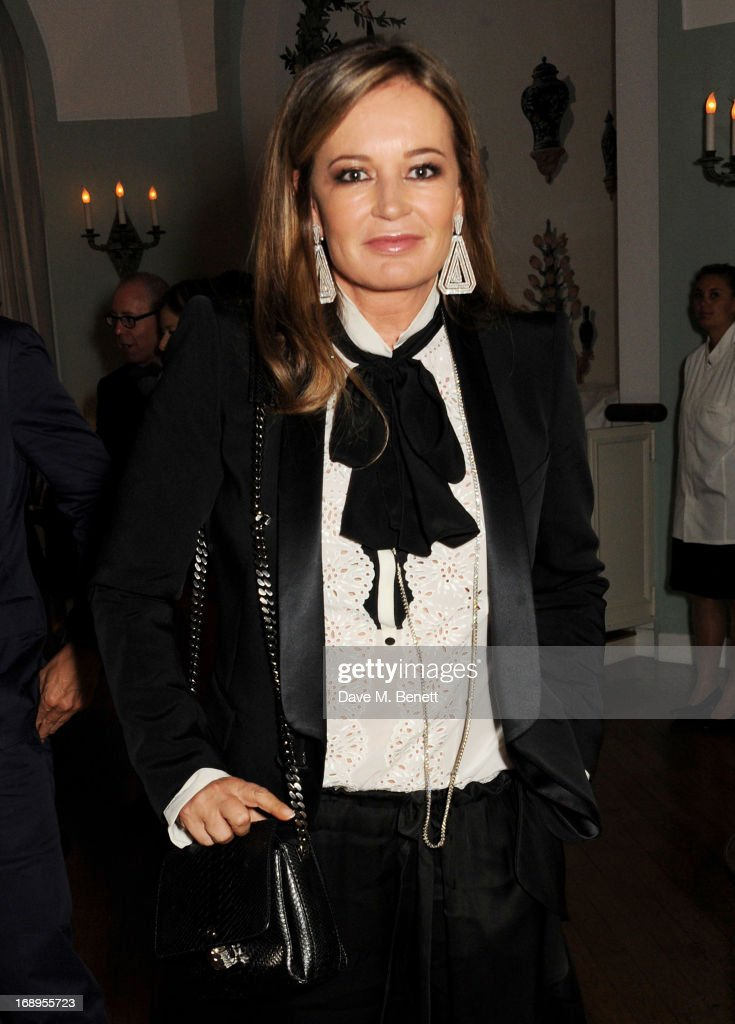 <a gi-track='captionPersonalityLinkClicked' href=/galleries/search?phrase=Eva+Cavalli&family=editorial&specificpeople=1719408 ng-click='$event.stopPropagation()'>Eva Cavalli</a> attends the annual Finch's Quarterly Review Filmmakers Dinner hosted by Charles Finch, Caroline Scheufele and Nick Foulkes at Hotel Du Cap Eden Roc on May 17, 2013 in Antibes, France.
