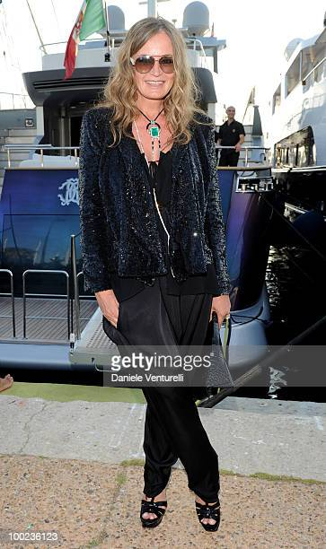 Eva Cavalli departs for Naomi Campbell's birthday party during the 63rd Annual International Cannes Film Festival on May 22 2010 in Cannes France