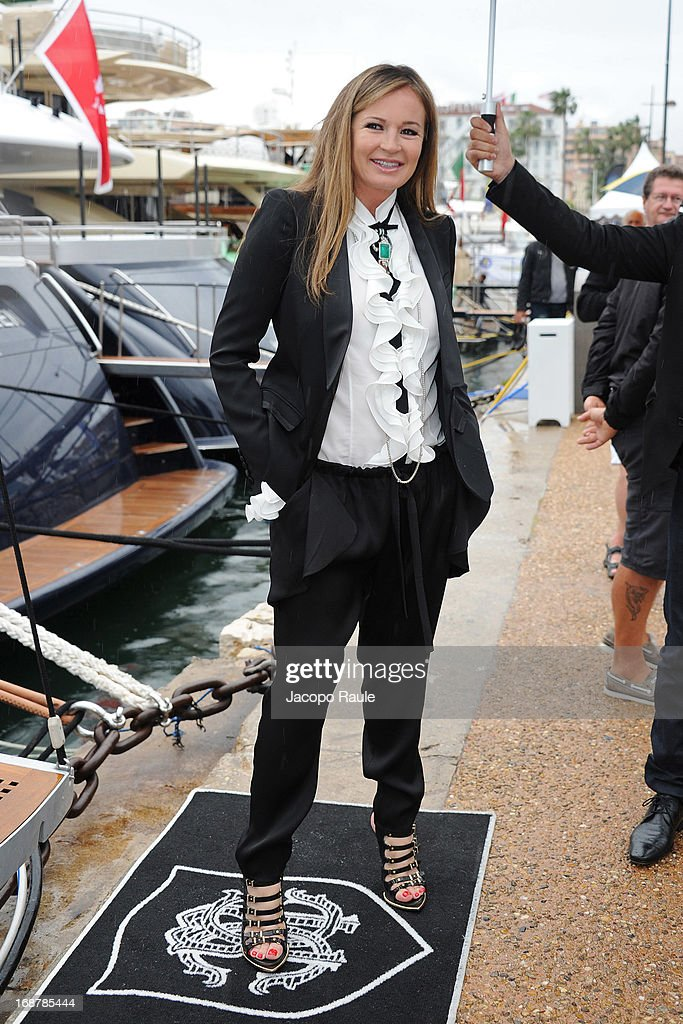 Eva Cavalli is seen during The 66th Annual Cannes Film Festival on May 15, 2013 in Cannes, France.