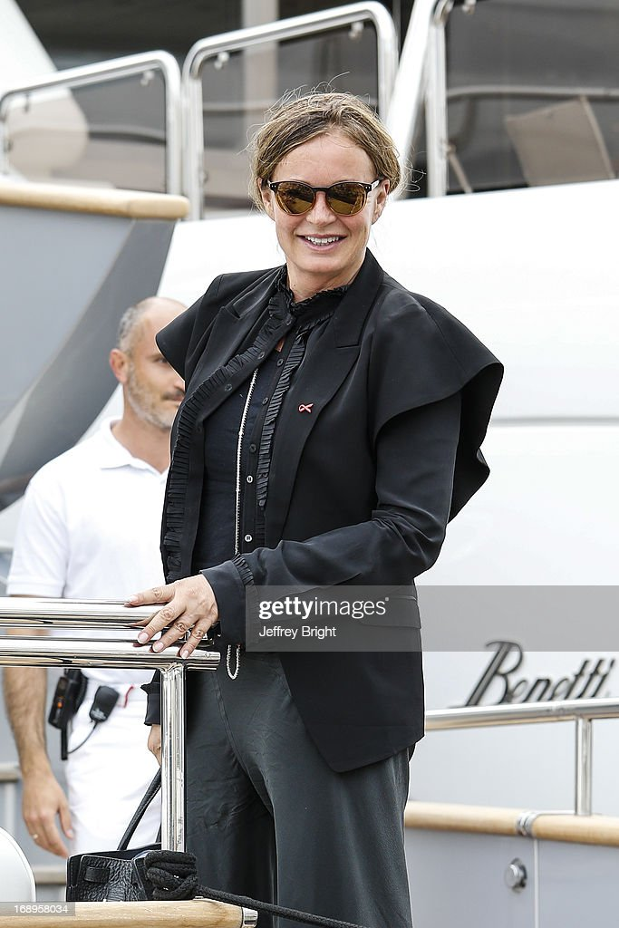 <a gi-track='captionPersonalityLinkClicked' href=/galleries/search?phrase=Eva+Cavalli&family=editorial&specificpeople=1719408 ng-click='$event.stopPropagation()'>Eva Cavalli</a> sighting at the 66th Annual Cannes Film Festival on May 16, 2013 in Cannes, France.