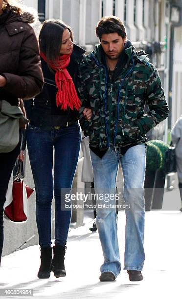 Eva Gonzalez and Cayetano Rivera are seen on December 03 2014 in Madrid Spain
