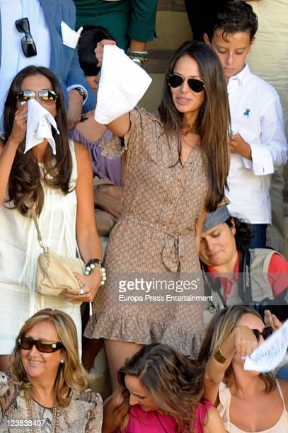 Eva Gonzalez attends the 'Goyesca' Bullfights on September 3 2011 in Ronda Spain The bullfight events linked to The Feria Goyesca stem from the...