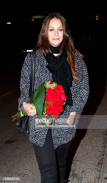 Eva Gonzalez celebrates her 32nd birthday on November 5 2012 in Madrid Spain