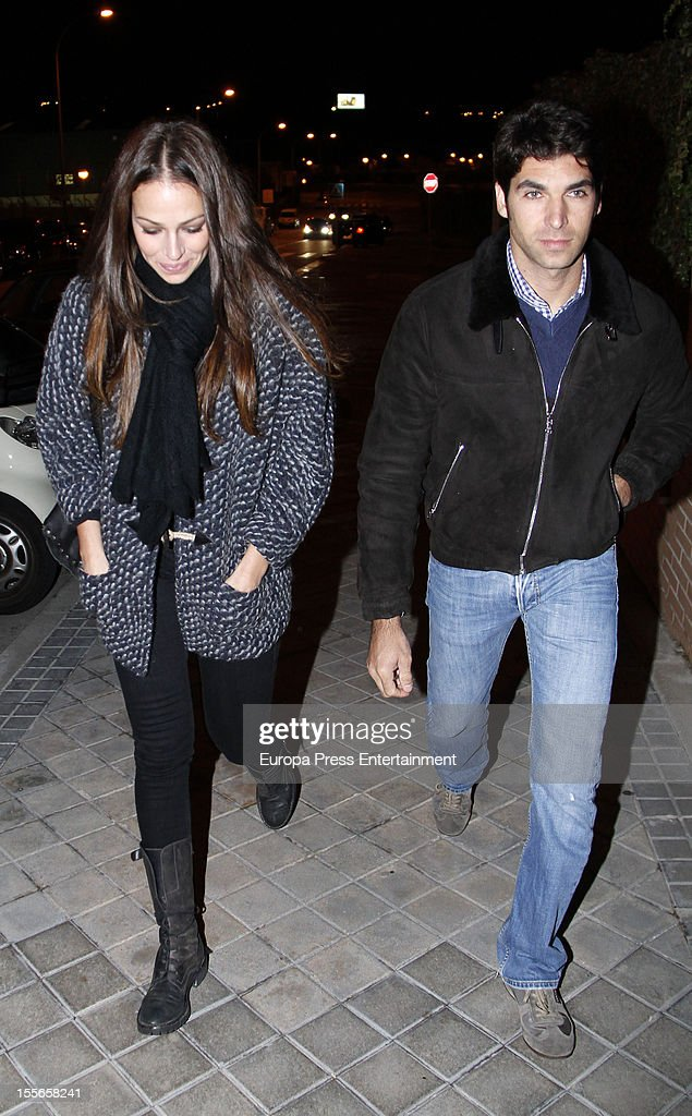 <a gi-track='captionPersonalityLinkClicked' href=/galleries/search?phrase=Eva+Gonzalez&family=editorial&specificpeople=242818 ng-click='$event.stopPropagation()'>Eva Gonzalez</a> celebrates her 32nd birthday with her boyfriend, the bullfighter Cayetano Rivera on November 5, 2012 in Madrid, Spain.