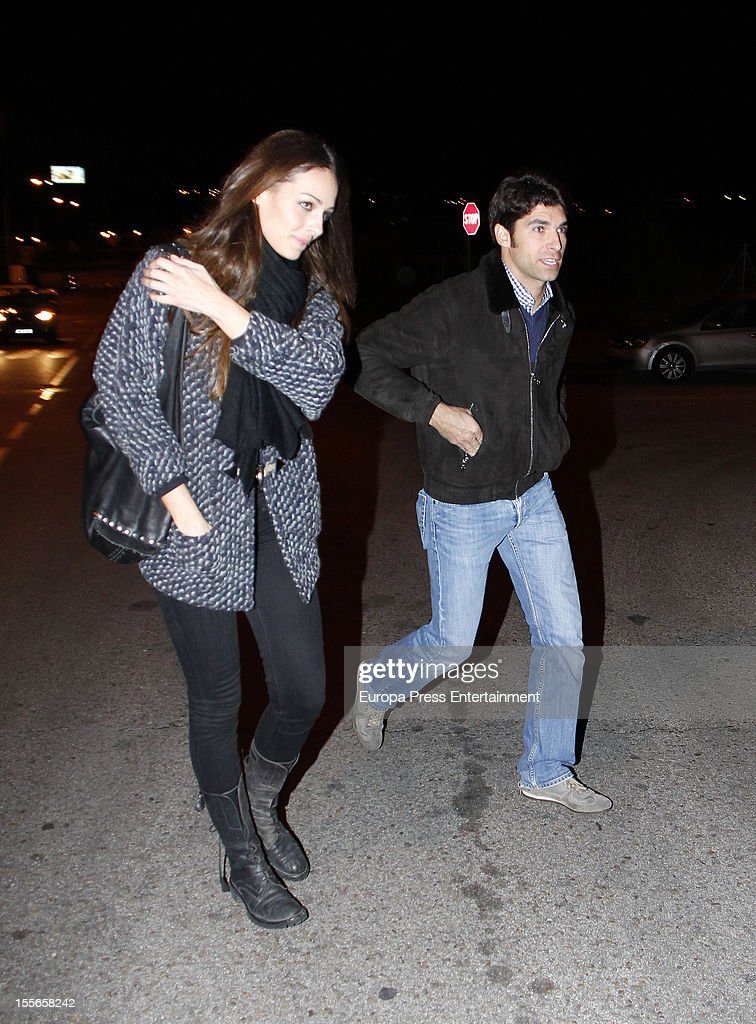 Eva Gonzalez celebrates her 32nd birthday with her boyfriend, the bullfighter Cayetano Rivera on November 5, 2012 in Madrid, Spain.