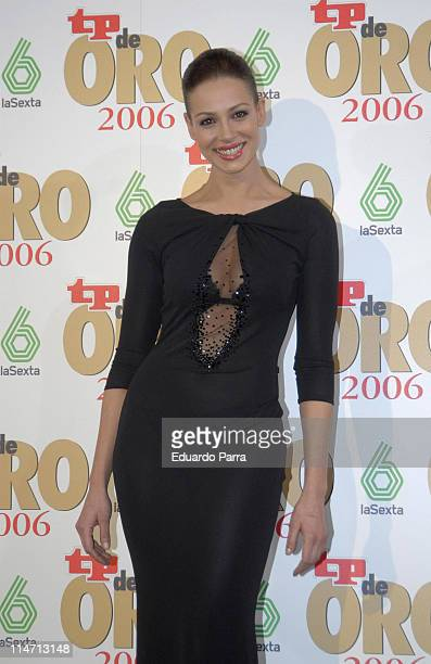 Eva Gonzalez during Spanish Television 'TP de Oro' Awards March 26 2007 at Theatre of Madrid in Madrid Spain