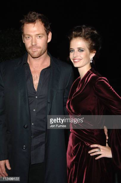 Eva Green and guest during 'Casino Royale' World Premiere After Party Inside at Berkeley Square in London Great Britain