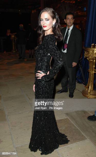 Eva Green at the Golden Compass World Premiere afterparty at the Tobacco Docks in London