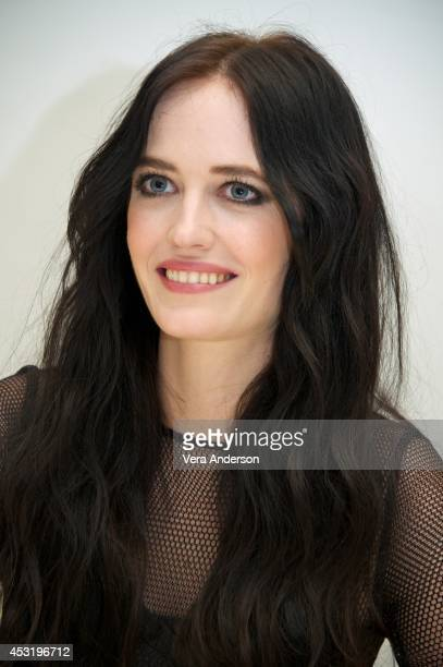 Eva Green at the 'Sin City A Dame To Kill For' Press Conference at the Four Seasons Hotel on August 2 2014 in Beverly Hills California