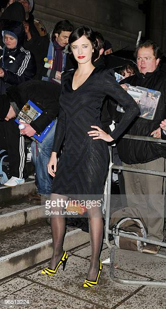 Eva Green attend London Evening Standard British Film Awards 2010 held at The Movieum County Hall on February 8 2010 in London England