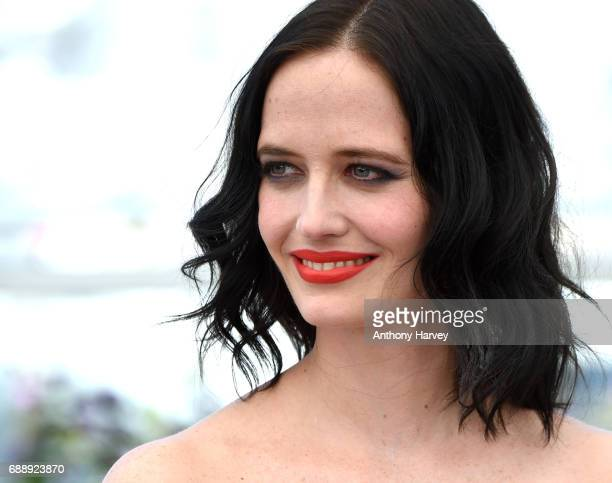 Eva Green attends the 'Based On A True Story' Photocall during the 70th annual Cannes Film Festival at Palais des Festivals on May 27 2017 in Cannes...