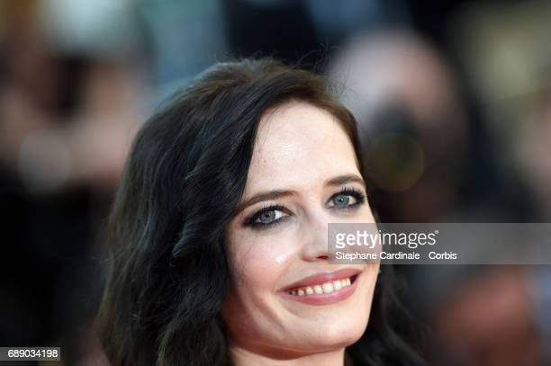 Eva Green attends the 'Based On A True Story' premiere during the 70th annual Cannes Film Festival at Palais des Festivals on May 27 2017 in Cannes...