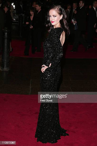 Eva Green attends 'The Golden Compass' world premiere held at the Odeon Leicester Square on November 27 2007 in London England
