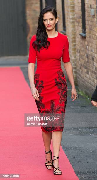 Eva Green attends the launch of the Campari Calendar 2015 at Shoreditch Studios on November 5 2014 in London England