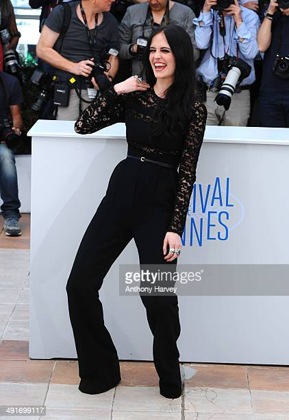 Eva Green attends the 'The Salvation' photocall at the 67th Annual Cannes Film Festival on May 17 2014 in Cannes France