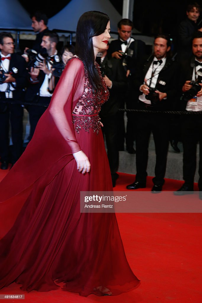 Eva Green attends the 'The Salvation' premiere during the 67th Annual Cannes Film Festival on May 17, 2014 in Cannes, France.