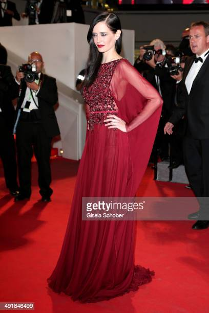 Eva Green attends the 'The Salvation' premiere during the 67th Annual Cannes Film Festival on May 17 2014 in Cannes France