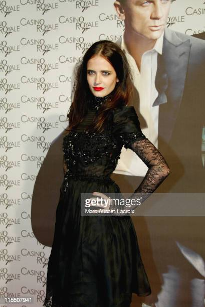 Eva Green during 'Casino Royale' Paris Premiere Outside Arrivals at The Grand Rex in Paris France
