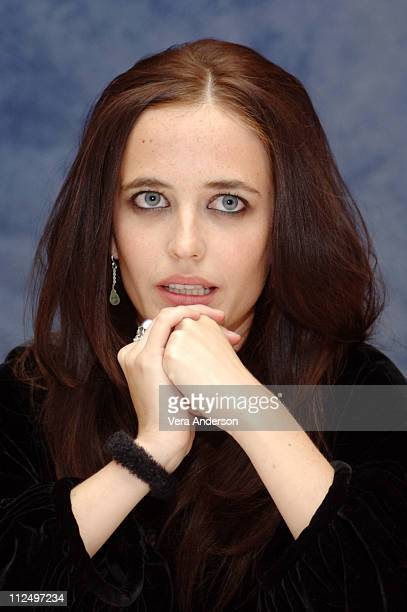 Eva Green during 'Casino Royale' Press Conference with Daniel Craig Martin Campbell Eva Green Mads Mikkelsen and Caterina Murino at The Regency Hotel...