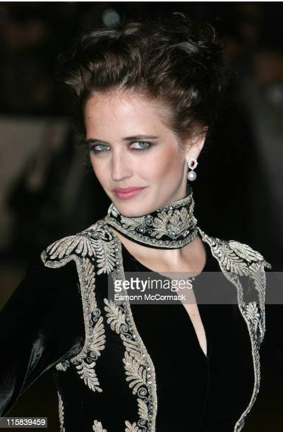 Eva Green during 'Casino Royale' World Premiere Outside Arrivals at Odeon Leicester Square in London Great Britain