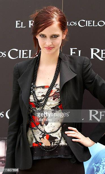 Eva Green during 'Kingdom of Heaven' Madrid Photocall at Ritz Hotel in Madrid Spain