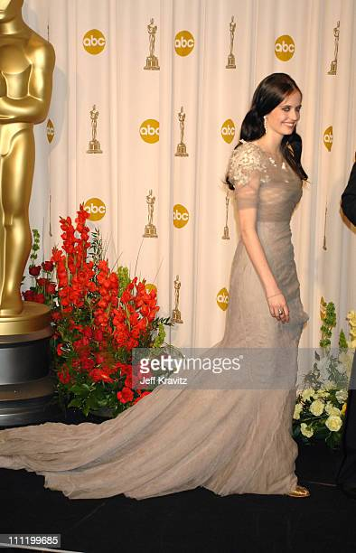 Eva Green presenter Best Documentary Short during The 79th Annual Academy Awards Press Room at Kodak Theatre in Hollywood California United States