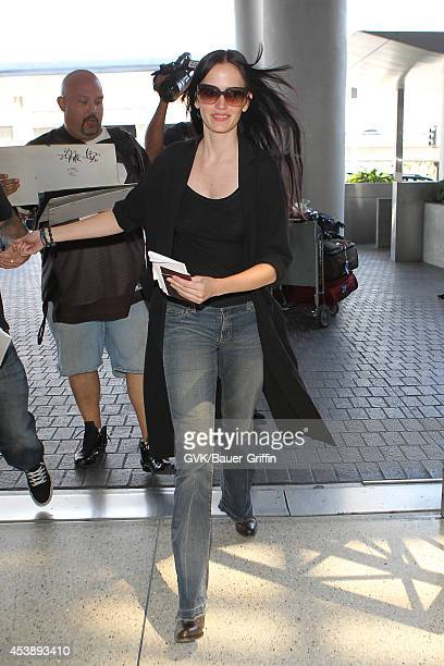 Eva Green seen at LAX on August 20 2014 in Los Angeles California
