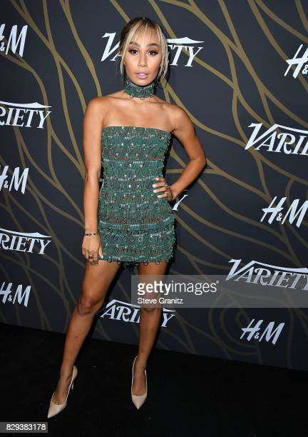Eva Gutowski arrives at the Variety Power Of Young Hollywood at TAO Hollywood on August 8 2017 in Los Angeles California
