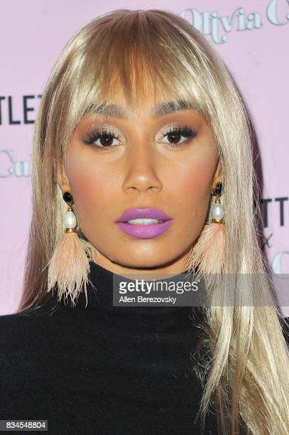 Eva Gutowski attends PrettyLittleThing X Olivia Culpo Launch at Liaison Lounge on August 17 2017 in Los Angeles California
