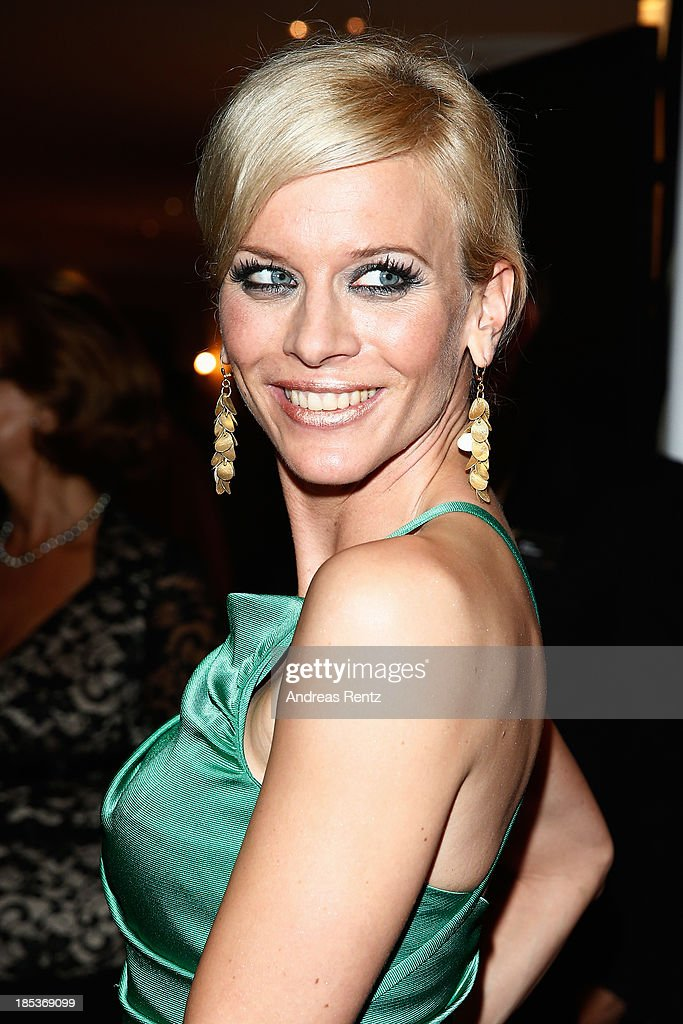 Eva Habermann arrives for the 7th Audi Generation Award 2013 at Hotel Bayerischer Hof on October 19, 2013 in Munich, Germany.
