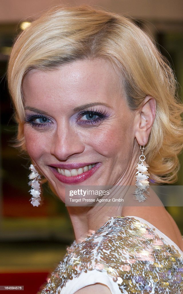 Eva Habermann attends aftershow party to the german premiere of his movie 'All Things Fall Apart' at Hotel Berlin on March 24, 2013 in Berlin, Germany.