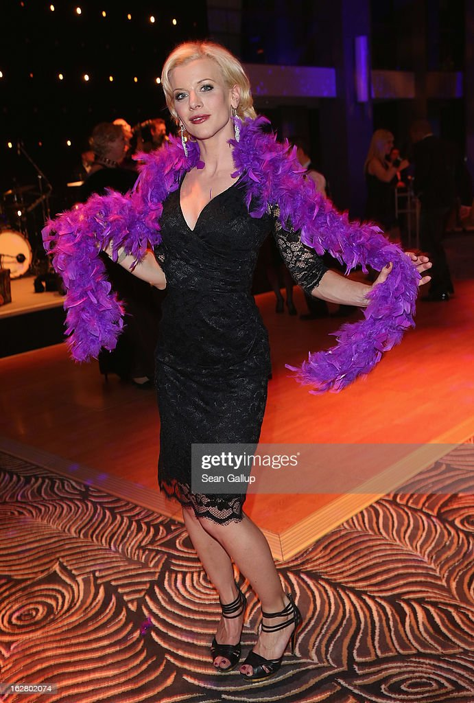 Eva Habermann attends grand opening of the Waldorf Astoria Berlin hotel on February 27, 2013 in Berlin, Germany.