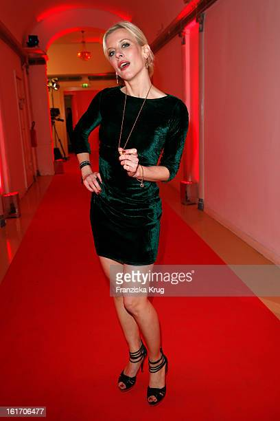 Eva Habermann attends the 5th '99FireFilmsAward' Red Carpet Arrivals at the Admiralspalast on February 14 2013 in Berlin Germany